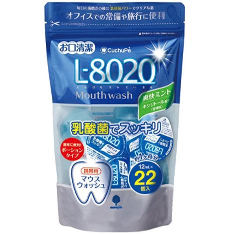 Cuchupe 便携式漱口水含乳酸菌L8020 防蛀去口气 22粒 爽快薄荷味