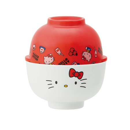 SKATER  Hello Kitty 儿童碗套装 安全塑料