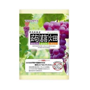 MannanLife 蒟蒻畑 果冻布丁 葡萄味 25g*12个/袋